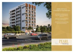 Elevation of real estate project Pearl Residency located at Sarkhej, Ahmedabad, Gujarat