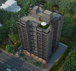 Elevation of real estate project Saransh located at Vejalpur, Ahmedabad, Gujarat