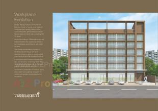 Elevation of real estate project Vrushakruti Corpspace located at Vejalpur, Ahmedabad, Gujarat