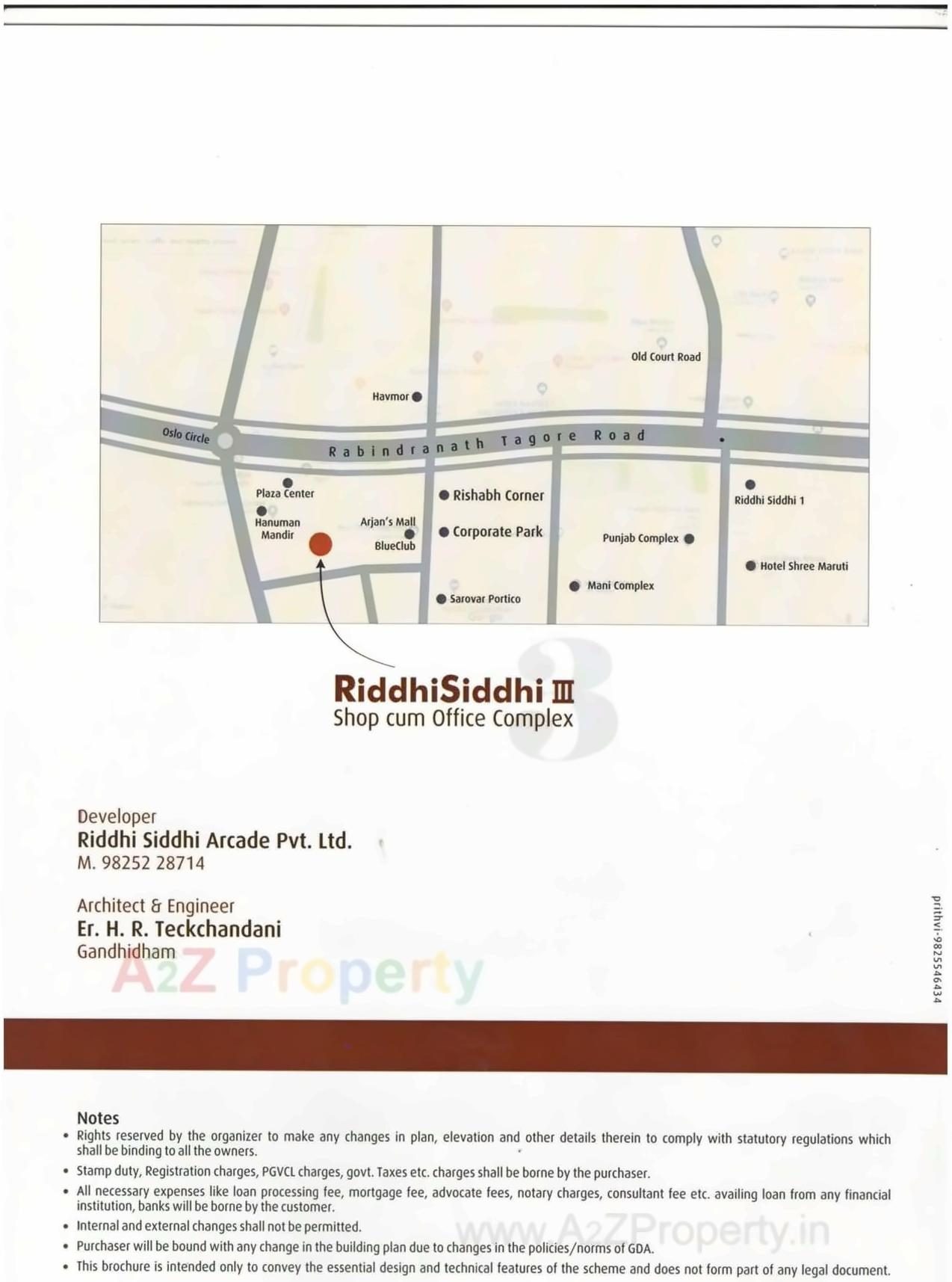 Riddhi Siddhi Arcade Iii - Rera approved project at
