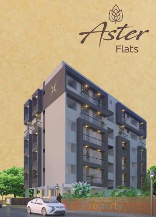 Elevation of real estate project Aster Flat located at Mavdi, Rajkot, Gujarat