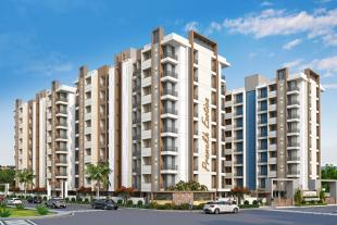 Elevation of real estate project Highstreet located at Nana-mava, Rajkot, Gujarat