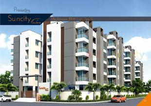 Elevation of real estate project Suncity Enclave located at Raiya, Rajkot, Gujarat