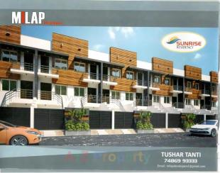 Elevation of real estate project Sunrise Residency located at Rajkot, Rajkot, Gujarat