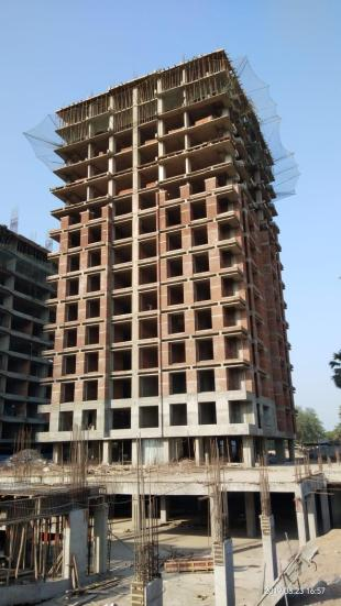 Elevation of real estate project A One Luxuria located at Varachha, Surat, Gujarat