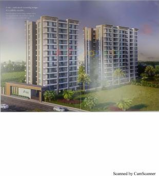 Elevation of real estate project Abhishek Luxuria located at Abrama, Surat, Gujarat