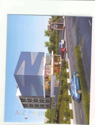 Elevation of real estate project Apple Square located at Katar, Surat, Gujarat