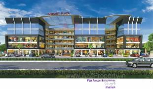 Elevation of real estate project Arihant Plaza located at Dindoli, Surat, Gujarat
