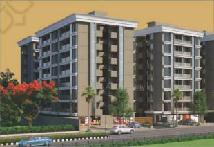 Elevation of real estate project Balaji Residency located at Dindoli, Surat, Gujarat