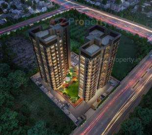 Elevation of real estate project Blu Altezza located at Pal, Surat, Gujarat