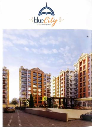 Elevation of real estate project Blue City located at Varachha, Surat, Gujarat