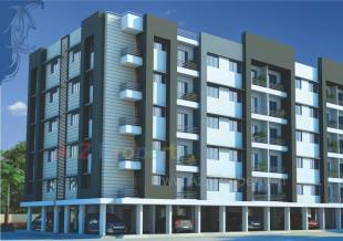 Elevation of real estate project Devdarshan Residency located at Dindoli, Surat, Gujarat
