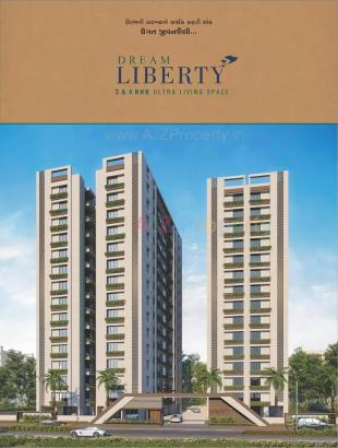 Elevation of real estate project Dream Liberty located at Surat, Surat, Gujarat