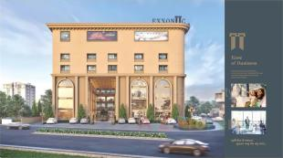 Elevation of real estate project Exxoniic located at Surat, Surat, Gujarat