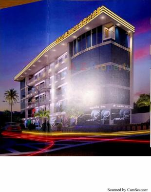 Elevation of real estate project Govardhan Square located at Varachha, Surat, Gujarat