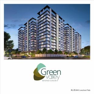 Elevation of real estate project Green Valley located at Bharthna-vesu, Surat, Gujarat