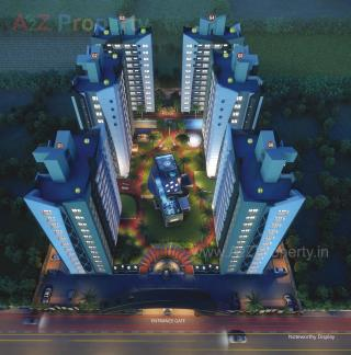 Elevation of real estate project Happy Glorious  located at Surat, Surat, Gujarat