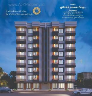 Elevation of real estate project Happy Residency located at Chhaprabhatha, Surat, Gujarat