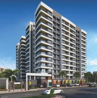 Elevation of real estate project Heaven Enclave located at Variav, Surat, Gujarat