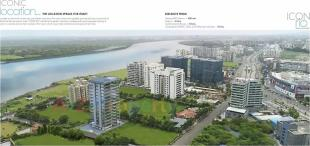 Elevation of real estate project Icon Rio located at Rundh, Surat, Gujarat