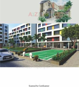 Elevation of real estate project Kaverri Habitat located at Sarthana, Surat, Gujarat