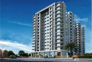 Elevation of real estate project Casa King located at Palanpur, Surat, Gujarat