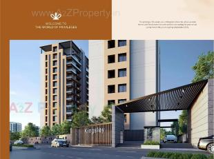 Elevation of real estate project Kingsley located at Bhatha, Surat, Gujarat