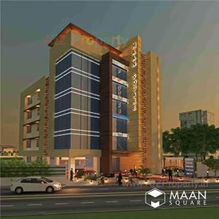 Elevation of real estate project Maansquare located at Althan, Surat, Gujarat