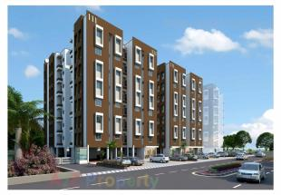 Elevation of real estate project Manvay Residency located at Surat, Surat, Gujarat