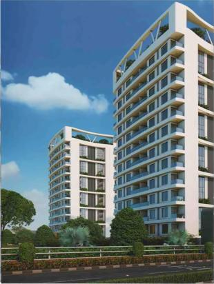 Elevation of real estate project Marigold Cresta located at Sarthana, Surat, Gujarat