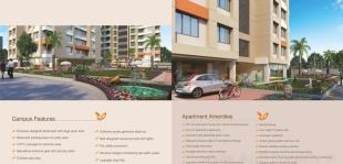 Elevation of real estate project Marvella Residency located at Bhimrad, Surat, Gujarat