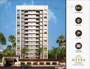 Elevation of real estate project Meera Homes located at Varachha, Surat, Gujarat