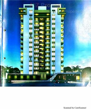 Elevation of real estate project Meera Park located at Bhimrad, Surat, Gujarat