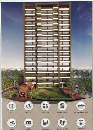 Elevation of real estate project Milan Heights located at Tavara, Surat, Gujarat