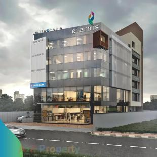 Elevation of real estate project Milestone Eternis located at Sama, Surat, Gujarat