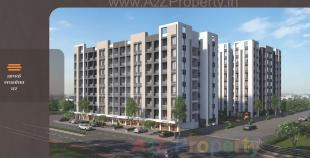 Elevation of real estate project Nilkanth Heights located at Pali, Surat, Gujarat