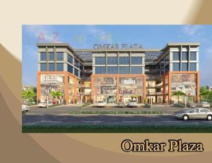Elevation of real estate project Omkar Plaza located at Bhesan, Surat, Gujarat