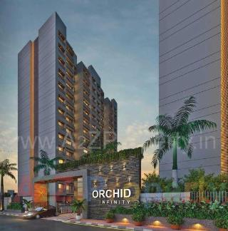 Elevation of real estate project Orchid Infinity located at Bhesan, Surat, Gujarat
