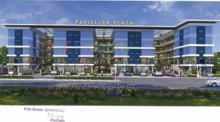Elevation of real estate project Pavillion Plaza located at Dindoli, Surat, Gujarat