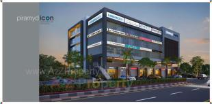 Elevation of real estate project Piramyd Icon located at Surat, Surat, Gujarat