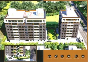Elevation of real estate project Prayosha Home located at Dindoli, Surat, Gujarat