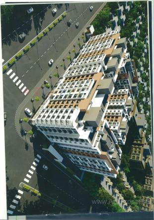 Elevation of real estate project Prayosha Prime located at Surat, Surat, Gujarat