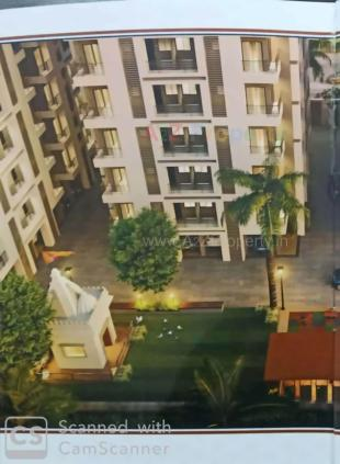 Elevation of real estate project Radhe Residency located at Surat, Surat, Gujarat