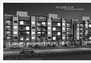 Elevation of real estate project Radhika Homes located at Dindoli, Surat, Gujarat