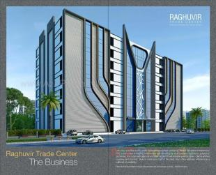 Elevation of real estate project Raghuvir Trade Center located at Magob, Surat, Gujarat