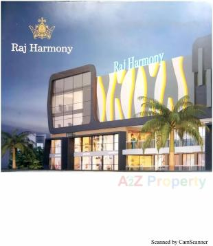 Elevation of real estate project Raj Harmony located at Jahangirabad, Surat, Gujarat