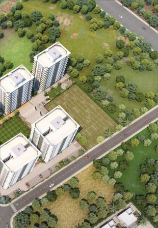 Elevation of real estate project River Pentasky located at Althan, Surat, Gujarat