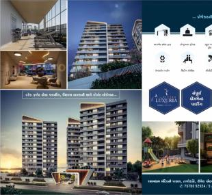 Elevation of real estate project Rivera Luxuria located at Valak, Surat, Gujarat
