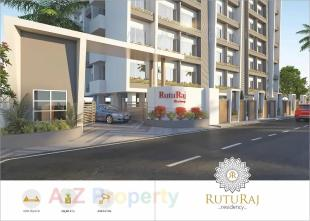 Elevation of real estate project Ruturaj Residency located at Chhaprabatha, Surat, Gujarat