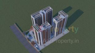Elevation of real estate project Sahjanand Prasth   By Sidhdheshwar Corporation located at Varachha, Surat, Gujarat